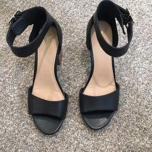 Blacks Sandal Heel